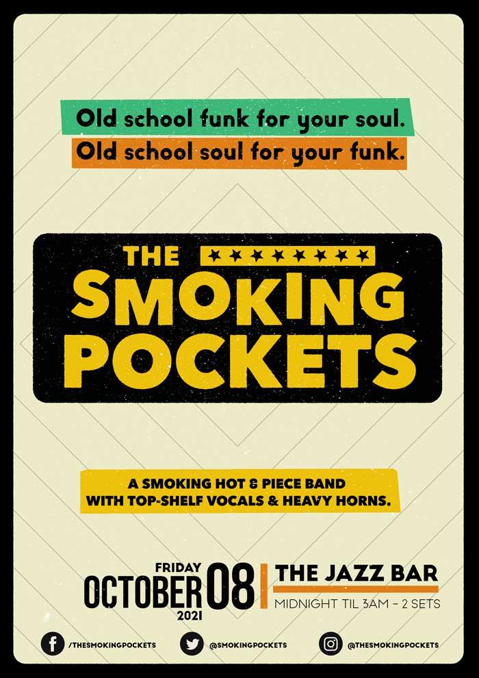 The Smoking Pockets - Live at The Jazz Bar poster